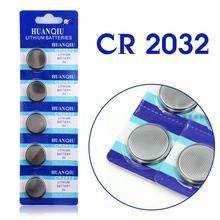 5 Pcs 3V Lithium Coin Cells Button Battery 5004LC ECR2032 CR2032 DL2032 KCR2032 EE6227