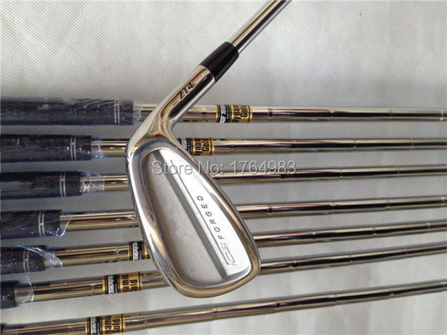 CB714 Iron Set Golf Forged Irons OEM Clubs 3-9Pw(9PCS) Regular/Stiff Graphite Shaft Come Head Cover - Leisures store