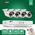 ANRAN 1800N 4CH HD AHD DVR 1800TVL 720P 24 IR Day Night Outdoor Waterproof Video Security