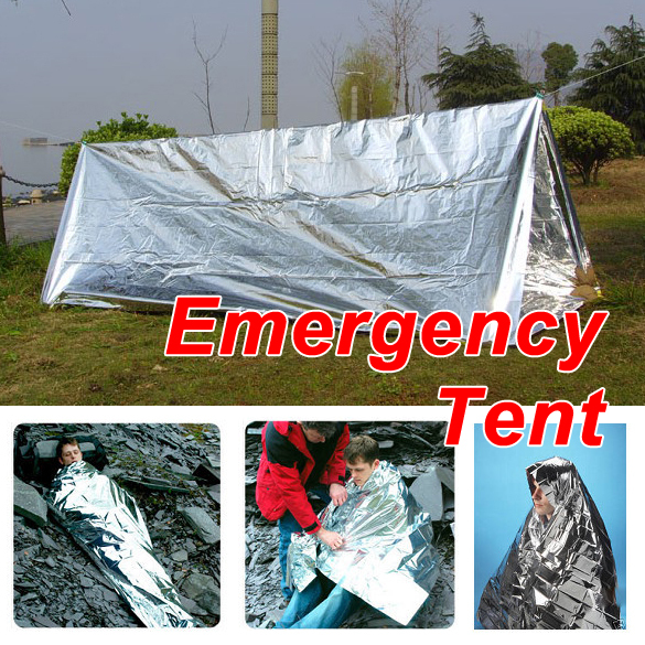 New Hot Sale Emergency Tent Tube Survival Camping Shelter Emergencies Sporting Outdoor Travel Kits(China (Mainland))