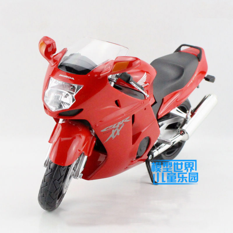 High Simulation Exquisite Diecasts Toy Vehicles TB Car Styling CBR1100XX 1:12 Alloy Diecast Motorcycle Model Toy Car(China (Mainland))