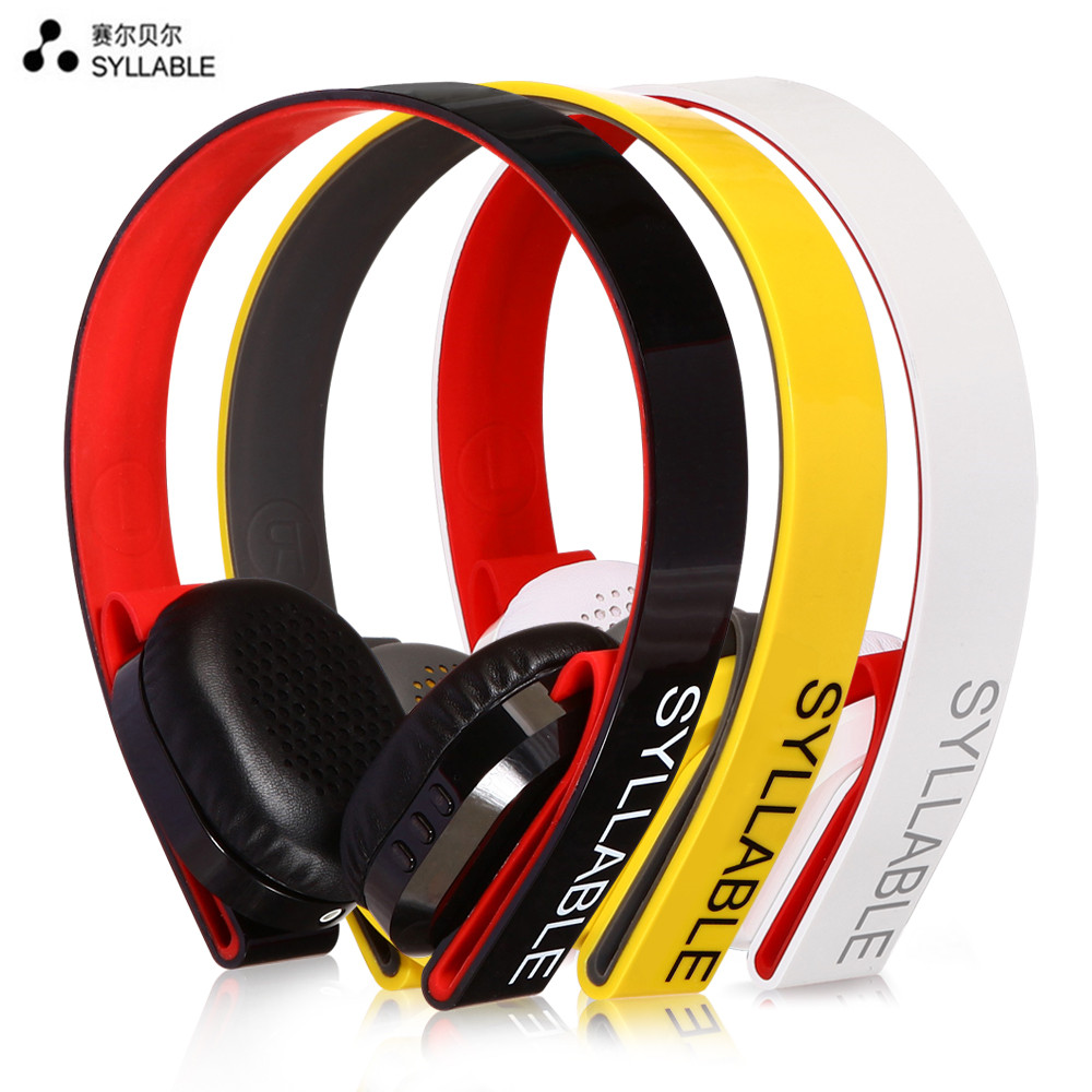 Syllable G600 Wireless Bluetooth Earphone 4.0 HIFI Stereo Sound Musical Sports Headset Four Color Noise Cancellation Headphones(China (Mainland))