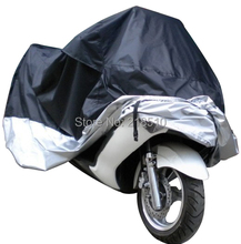 Motorcycle Bike Moped Scooter Cover Dustproof Waterproof Rain UV resistant Dust Prevention Covering (Size L 220*95*110 cm)