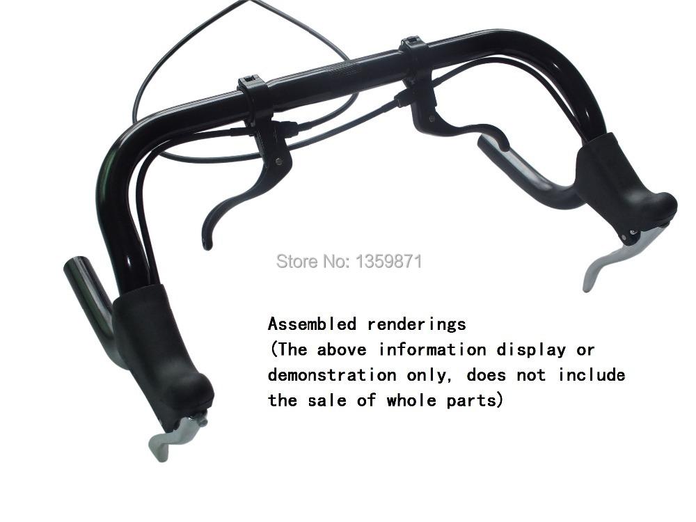 Bicycle Brake Systems : Road mtb bicycle bike handlebar brake lever curved pole