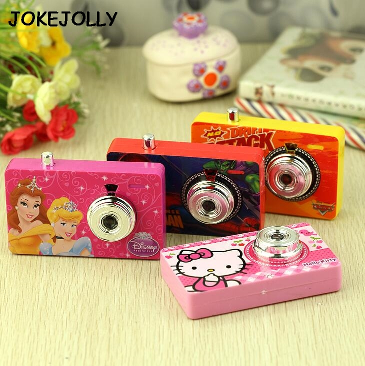 Children Kids toy camera simulation kids digital camera Hello Kitty Princess Cars Spiderman Educational toys for children(China (Mainland))