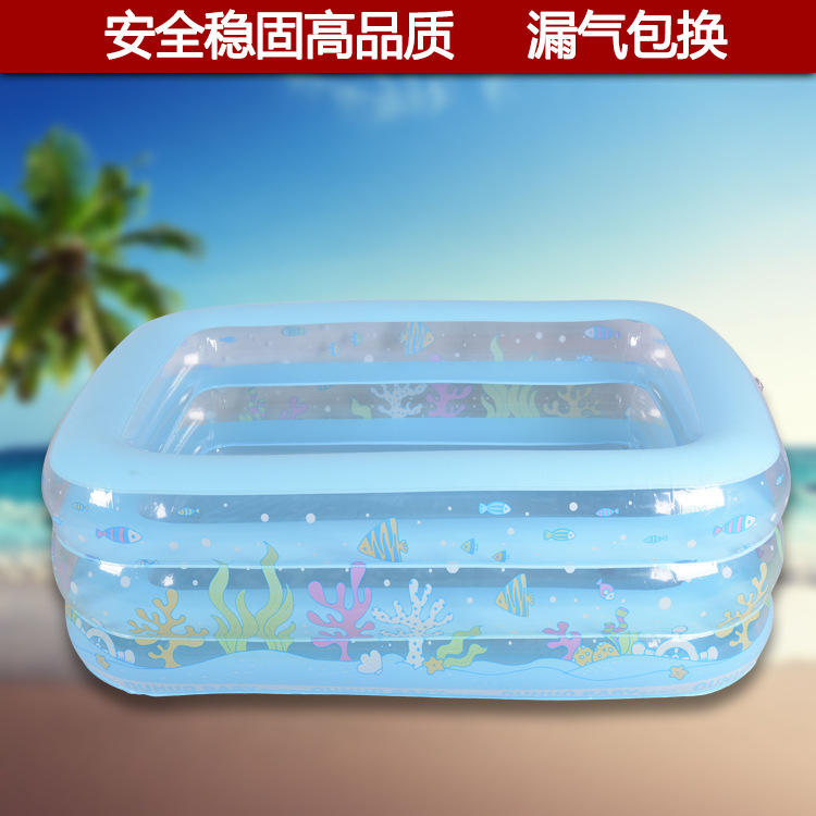 Manufacturers of infant swimming pool children household inflatable tub swimming barrels baby bath tub thickened cushion(China (Mainland))