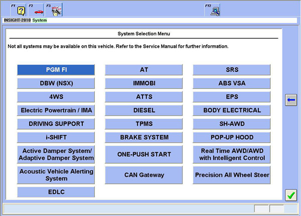 Honda HDS With Double Board Software 3