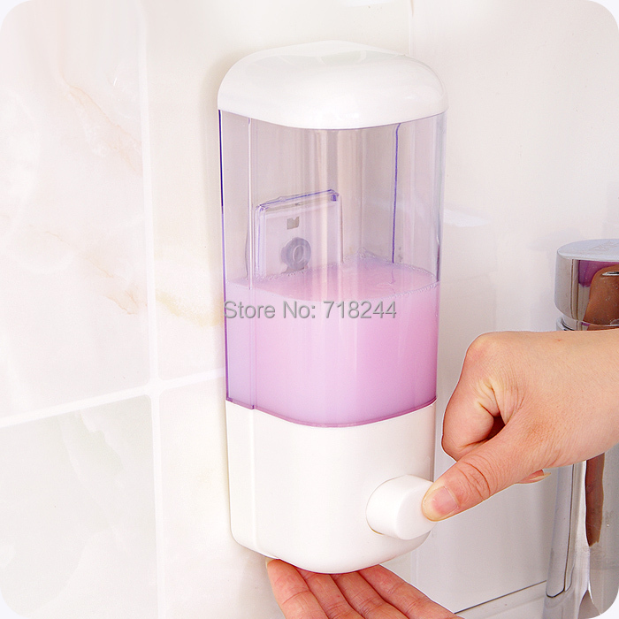 Bathroom kichen wall mounted toilet hand washing manual for Liquid soap dispenser for bathroom