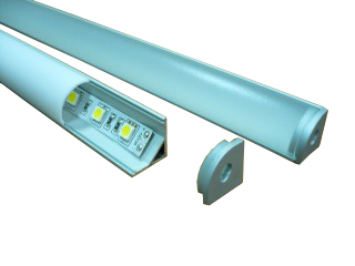 led profile for light led strip cover line aluminium led profile , HS-ALP006(China (Mainland))