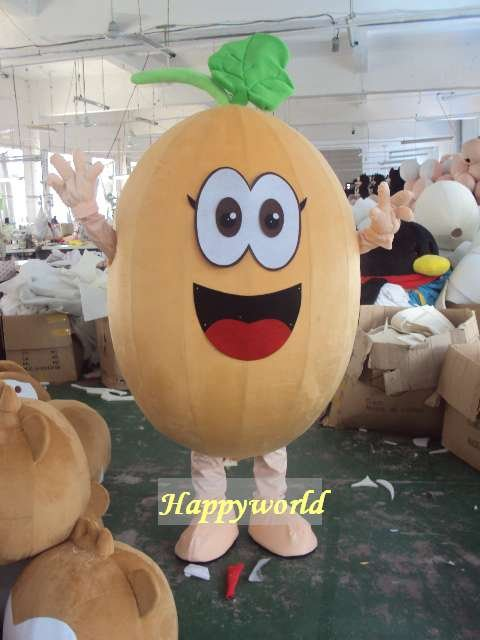 Bean Mascot Costume Cartoon Costume