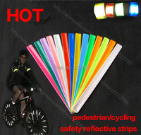 thickening Multi-purpose beam pants tape Cycling reflective tape strips warning Safety Bind Band Leg Strap Bicycle accessories
