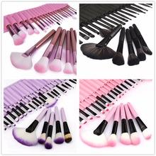 32pcs Full Set Women Makeup Brush Kit Superior Professional Soft Cosmetic Brushes Multifunction Toiletry Kit For Women(China (Mainland))