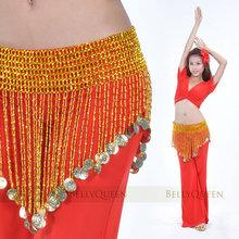 Танец живота аксессуары танец живота хип-шарф бусины эластичный пояс золото и серебро 2 цветов талия драгоценности(China (Mainland))