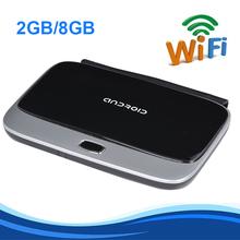 WiFi TV Set Top Box KODI DLNA OTG 1080P Bluetooth 4.0 Quad Core ARM Cortex A7 Rockchip RK3188 CS918 2G/8G Android 4.4 TV Box