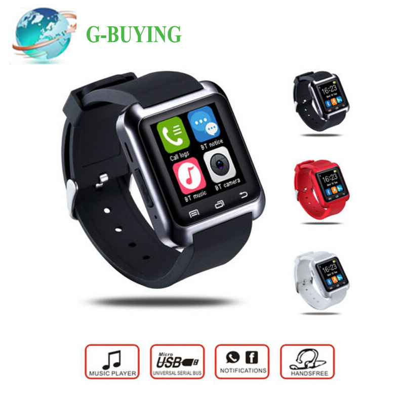 Bluetooth Smart Watch U80 Reloj Inteligente for Apple iPhone 5 5S 6 Plus Huawei LG Android Phone Sports Watch(China (Mainland))