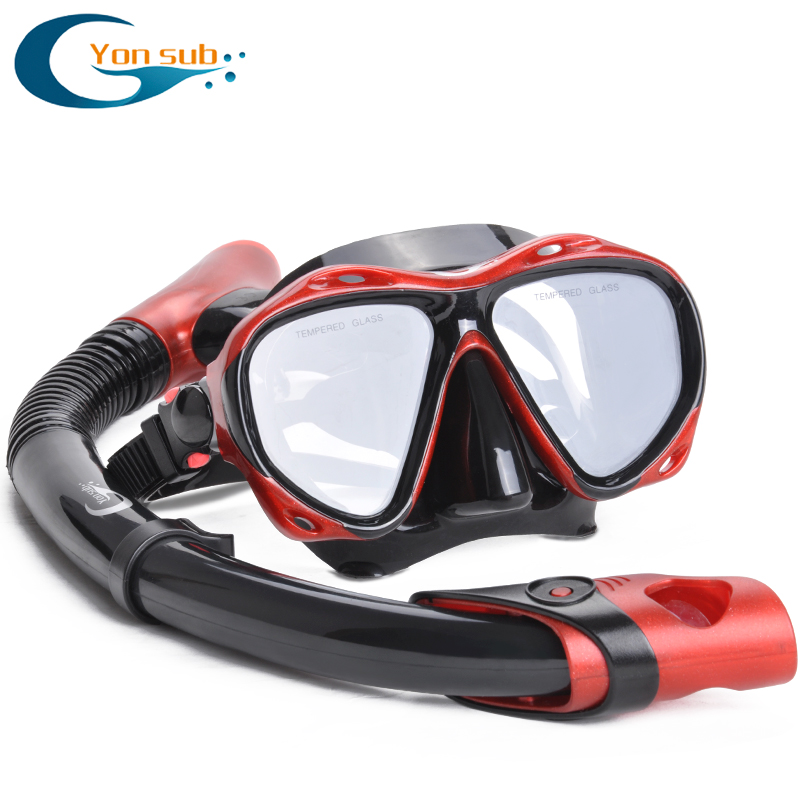 Yon Sub Sambo snorkeling goggles breathing tube suit snorkeling equipment mirror adult mask(China (Mainland))
