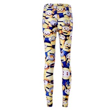 Minions Cartoon Leggings