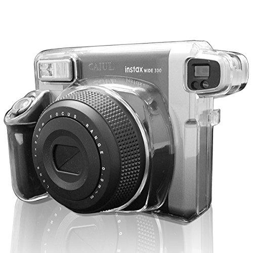 Takashi Crystal Hard Plastic Protect Case - Clear for Fuji Fujifilm Instax Wide 300 Instant Photo Camera(Hong Kong)
