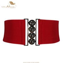 Buy SISHION Women Brief Belt Female Wide Belt Decoration Elastic Fashion Cummerbund Strap all-match Lady's Waist Belts Women 003 for $5.24 in AliExpress store