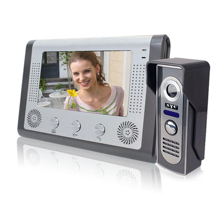 7 inch LCD intercom (1 monitor +1camera ) 100% Guarantee wholesale and retail(China (Mainland))