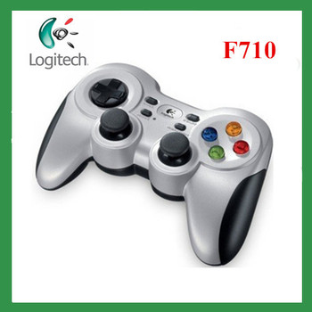 Free shipping Logitech F710 Wireless logitech gamepad  game support dual vibration game controller pc wireless controller