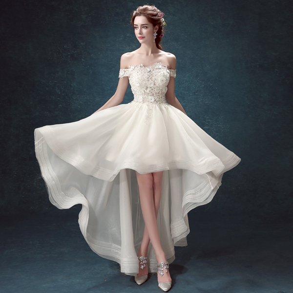 Popular High Low Wedding Dresses Buy Cheap High Low Wedding Dresses Lots From