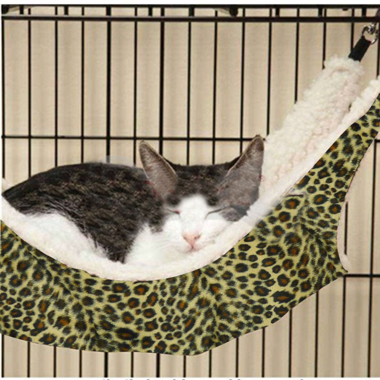 Nice & Warm Cat Bed Hammock for Rest Pet Cat Products Cat House Nest Size S L Free Shipping(China (Mainland))