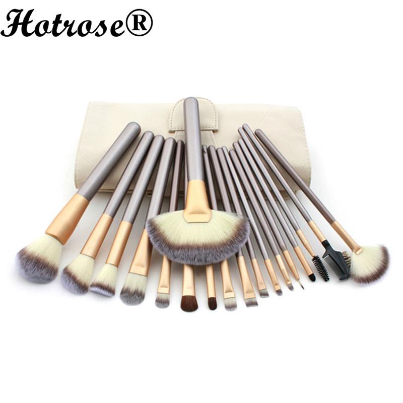 New Coming 18 Pcs/kits Professional Cosmetic Makeup Brush Set Foundation Powder Eyeliner Brushes, Top Quality Make up Brush(China (Mainland))