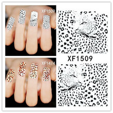 50Sheets XF1470-XF1509 Nail Art Flower Water Tranfer Sticker Nails Beauty Wraps Foil Polish Decals Temporary Tattoos Watermark