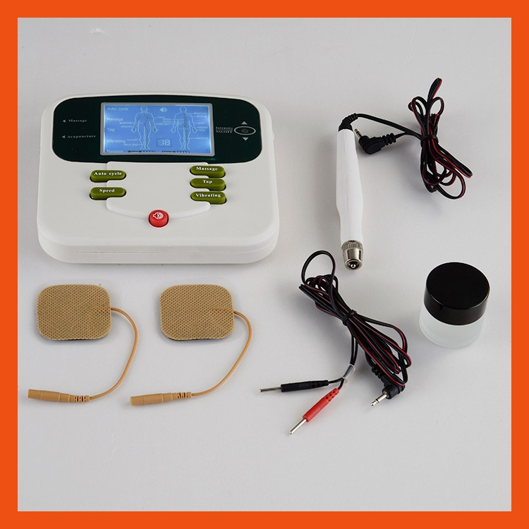 As Seen On TV physical therapy acupressure vibrator massage machine(China (Mainland))