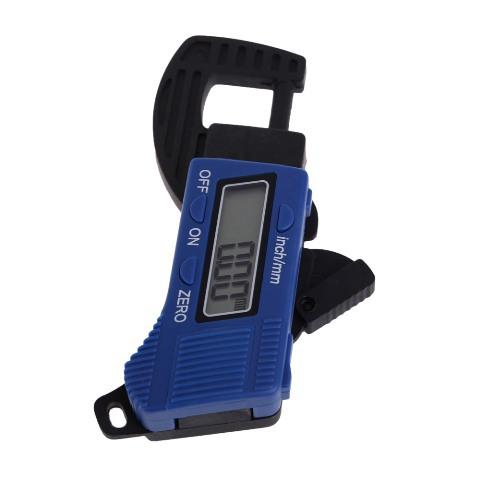 Free Shipping New Carbon Fiber Composites Digital Thickness Caliper Micrometer Guage gib