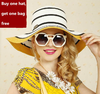 Wide Large Brim Floppy Summer Beach Sun Straw Hat Cap in cheap price - Wide-Large-Brim-Floppy-Summer-Beach-Sun-Straw-Hat-Cap-in-cheap-price.jpg_350x350
