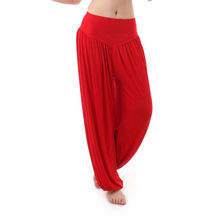 2015 New Women casual harem pants high waist sport pants dance club wide leg loose long bloomers trousers plus size,SB511(China (Mainland))