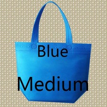 32*38*10 Medium Size Eco Reusable Shopping Bags Grocery Bags Convenient Totes Bag Shopping Red Cotton Tote Bag(China (Mainland))