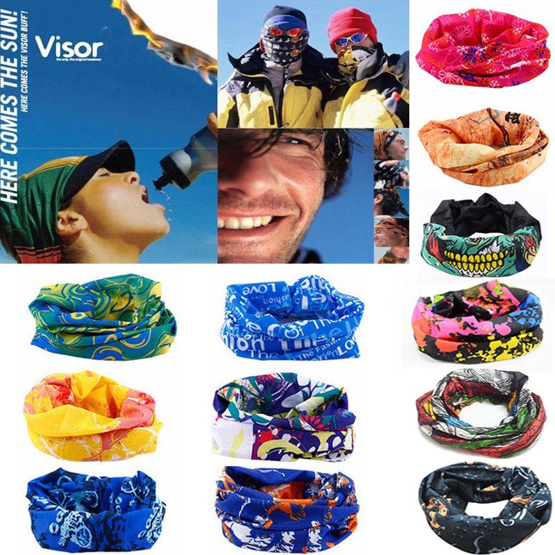 Outdoor Sport Bike Bicycle Cycling Riding Magic Headband Sports Turbans Cycle Neck Tube Warmer Scarf Scarves Headwear Bandanas(China (Mainland))