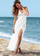 Новый свободного покроя женщины летнее платье 2015 белые женщины одеваются Vestidos Femininos женщина пляж макси длинные платья Vestidos свободного покроя для женщин