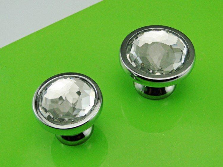 Chrome Glass Crystal Kitchen Cabinet Drawer Furniture