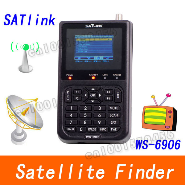 Signal meter satellite meter finder satellite finder meter WS 6906    11434