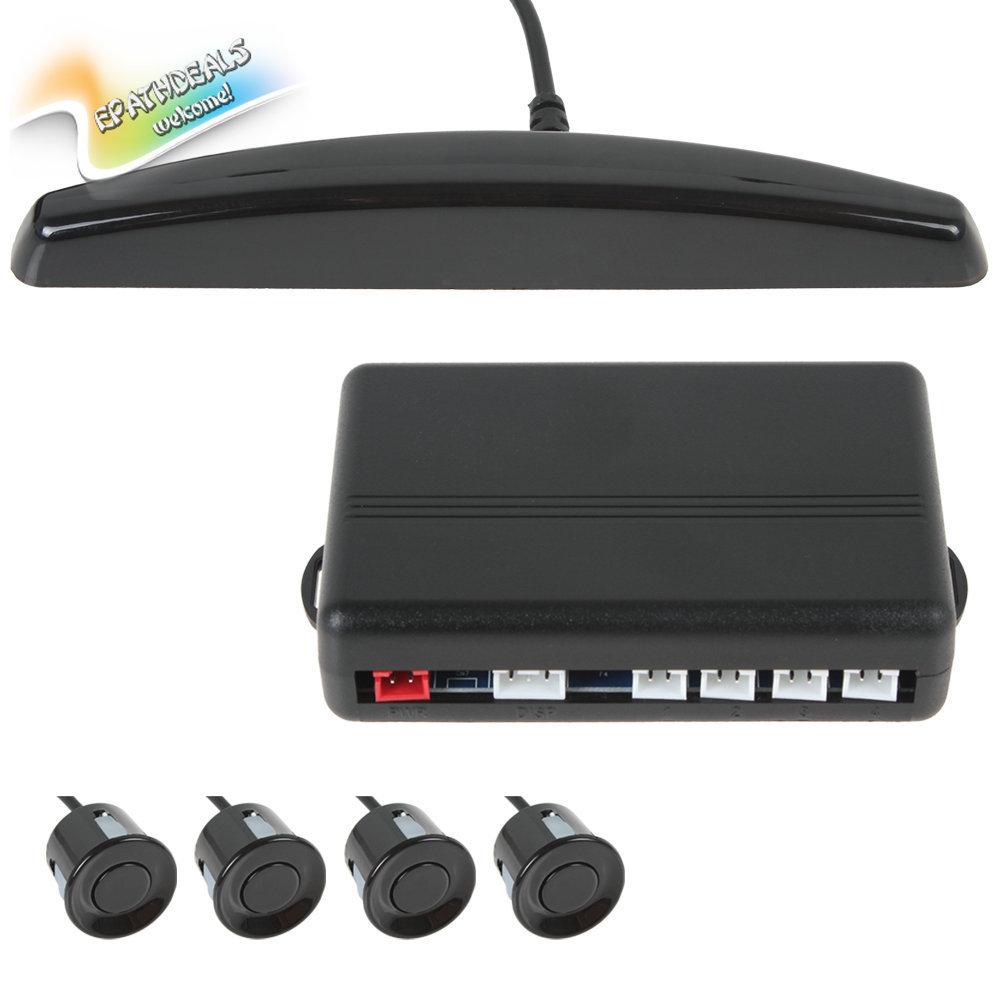 Professional Universal Car Reverse Radar Parking System Car Backup Rear Radar Kit + 4 x Car Parking Sensor Buzzer + LED Display(China (Mainland))