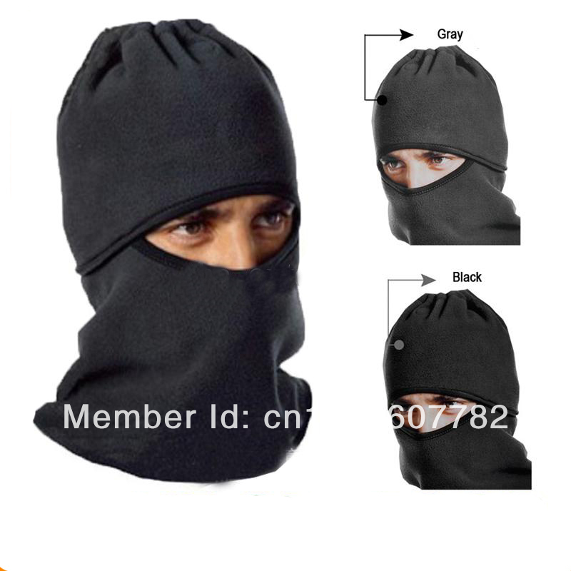 10PCS Outdoor Special Catch Balaclavas Sports Caps+Masks Scarf CS Warm Windproof Hat Visor Bike Skiing Face Protection(China (Mainland))