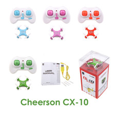 Cheerson cx-10 cx10 Mini 2.4g 4CH RC Remote Control Quadcopter Helicopter Drone cx 10 led Toys Gift For Children HT1653