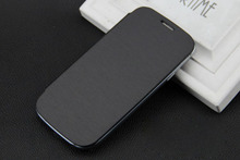 Flip Leather Cover Back Case for Samsung Galaxy S3 i9300 on Sale Free Shipping(China (Mainland))