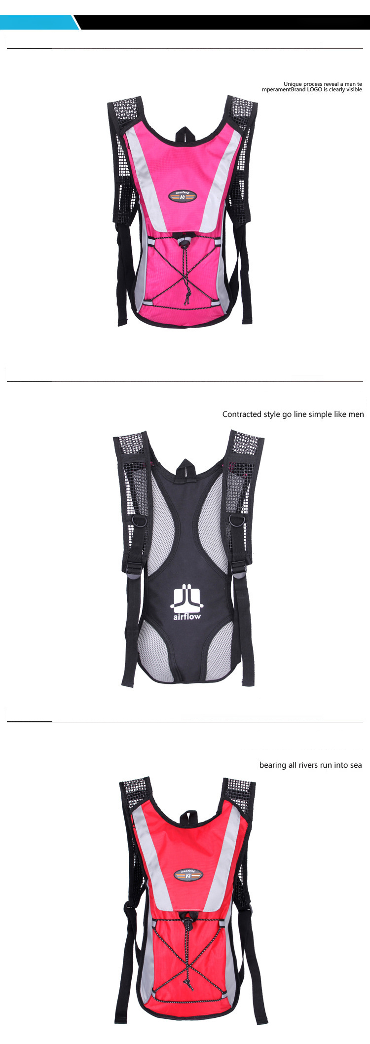 2019 Option Mini Running Backpack 2L Water Bag Cycling Bag Hiking ... 969cc1ef38