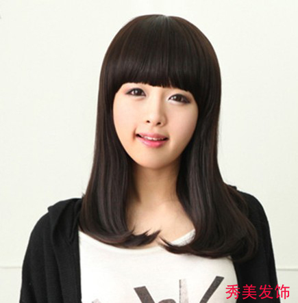 Women's wifing pear wig girls wig pear wig