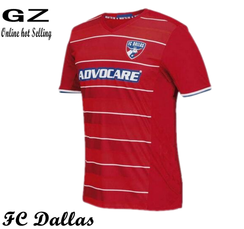 ePacket send 016 TOP Quality FC Dallas 2017 CASTILLO soccer jersey football shirt(China (Mainland))
