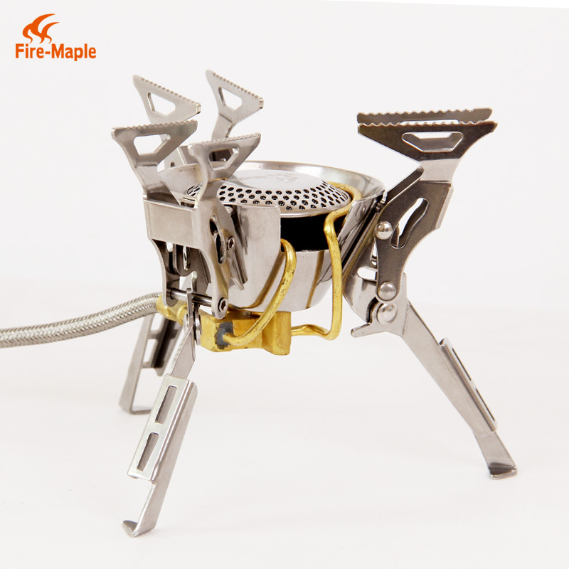 Outdoor Camping Gas Stove Adapter Three-Leg Transfer Head Adaptor Foldable Nozzle Bottle Screwgate Gear