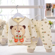 Next Kids Pajamas Sets for boys and girls winter Bamboo Charcoal Cashmere baby pajamas Long-sleeve Newborn 0-1Y Sleepwear &Robes(China (Mainland))