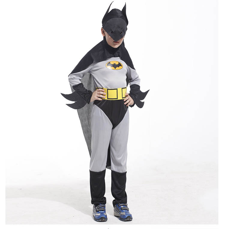 Child Batman Fancy Dress Costume Toddler Kids Boys 3 Size(China (Mainland))