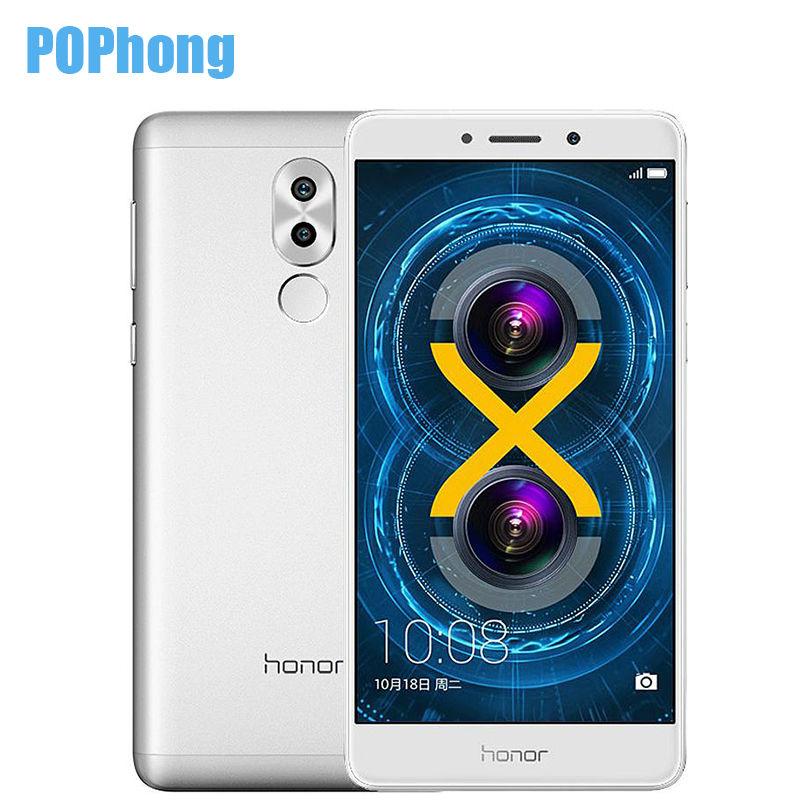 Original Huawei Honor 6X Dual Rear Camera Cell Phone 5.5 inch Kirin 655 Octa Core 3GB RAM 32GB ROM Android Dual SIM Fingerprint(China (Mainland))