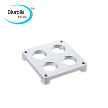 3d printer accessory ultimaker print head hot end holder aluminum oxide PEEK plate for mounting the extruder hot end